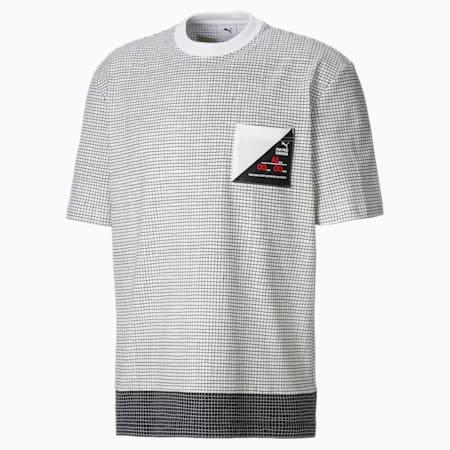 Męski T-shirt z kieszonką PUMA x MICHAEL LAU, Puma White, small