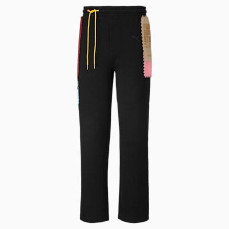푸마 x 마이클 라우 샘플 니트 팬츠/PUMA x MICHAEL LAU Knt Pants, Puma Black, small-KOR