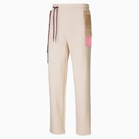 Pantaloni in maglia PUMA x MICHAEL LAU uomo, Eggnog, small