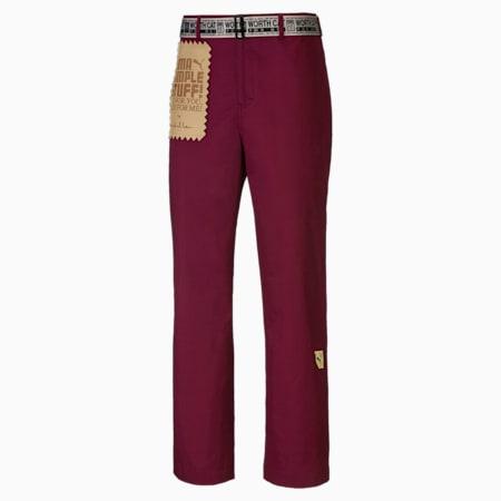 Pantalon PUMA x MICHAELLAU homme, Zinfandel, small