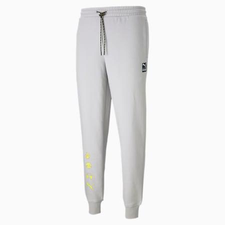 PUMA x EMOJI Men's Sweatpants, Gray Violet, small
