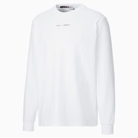 Camiseta de manga larga PUMA x Felipe Pantone para hombre, Puma White, small