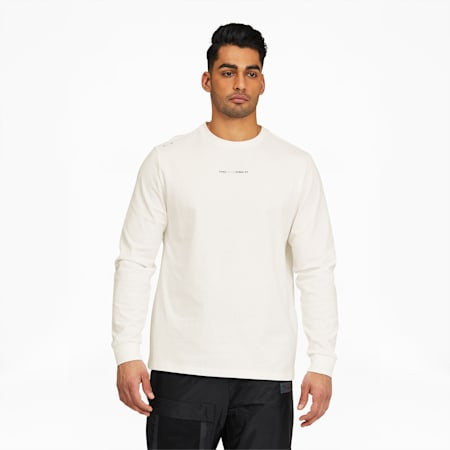Camiseta PUMA x FELIPE PANTONEde manga larga para hombre, Puma White, pequeño