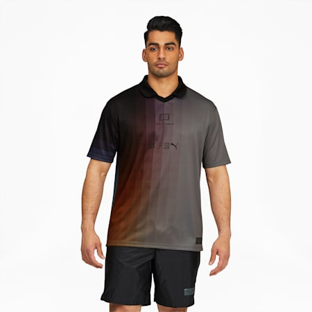 Camiseta PUMA x FELIPE PANTONEpara hombre, Puma Black-AOP, pequeño