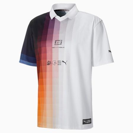 Camiseta PUMA x Felipe Pantone para hombre, Puma White-AOP, small