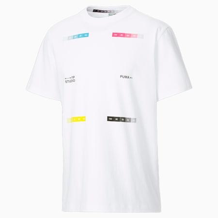 푸마 X 필립펜톤 반팔 티셔츠/PUMA x FP Tee, Puma White-White, small-KOR