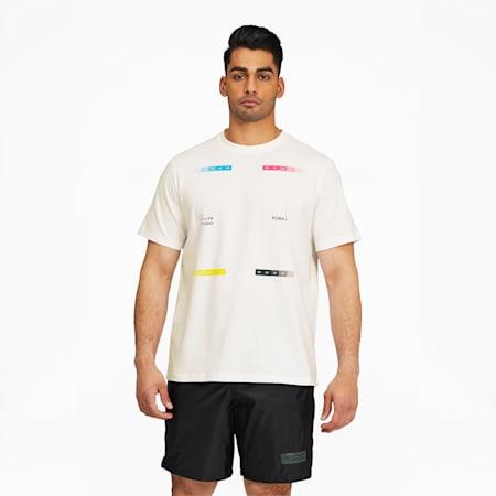 T-shirtPUMA x FELIPE PANTONE, homme, Blanc Puma, petit
