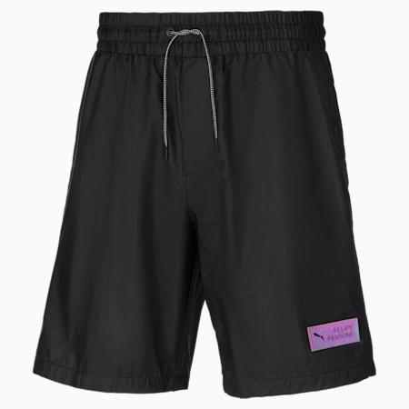 Shorts PUMA x Felipe Pantone para hombre, Puma Black, small