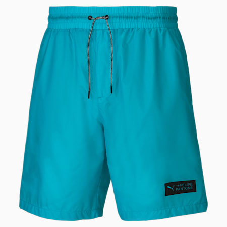 PUMA x Felipe Pantone Men's Shorts, Scuba Blue, small