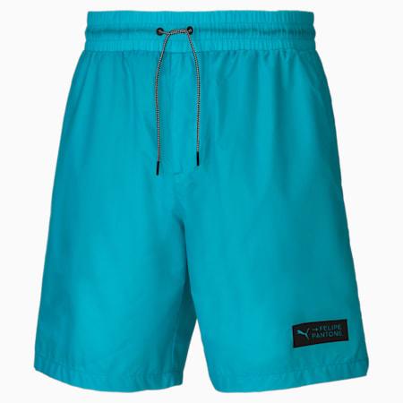 Shorts PUMA x Felipe Pantone para hombre, Scuba Blue, small