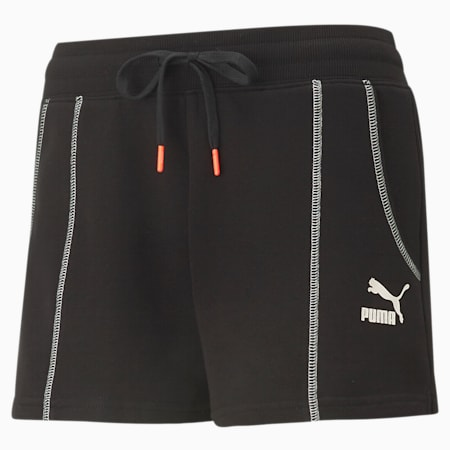 Convey Women's Relaxed Shorts, Puma Black, small-IND