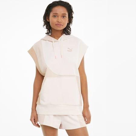Sudadera con capucha y sin mangas Convey para mujer, Brush, small