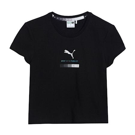 PUMA x Felipe Pantone Cropped Women's  Relaxed T-Shirt, Puma Black, small-IND