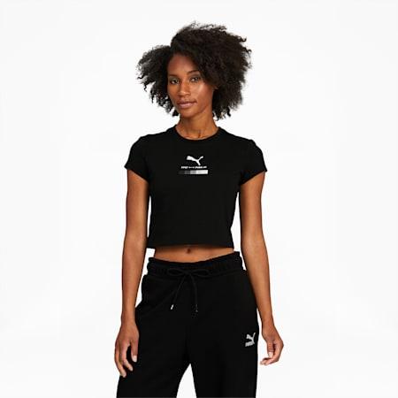 T-shirt courtPUMA x FELIPE PANTONE, femme, Puma Black, petit