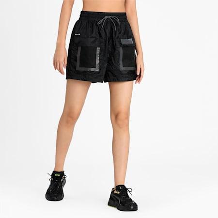 PUMA x Felipe Pantone Women's Relaxed Shorts, Puma Black, small-IND