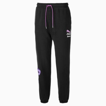PUMA x KidSuper Men's Sweatpants, Puma Black, small-GBR