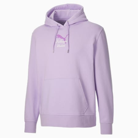 PUMA x KidSuper Men's Hoodie, Light Lavender, small-GBR