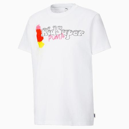 PUMA x KIDSUPER STUDIOS Tシャツ, Puma White, small-JPN