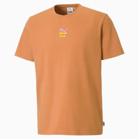 Camiseta PUMA x KidSuper para hombre, Almond, small