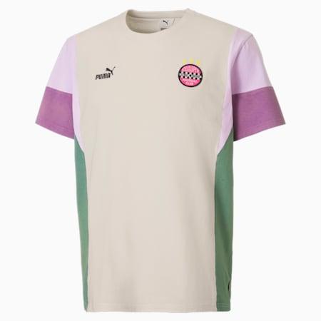 Camiseta con paneles PUMA x KidSuper para hombre, Eggnog, small