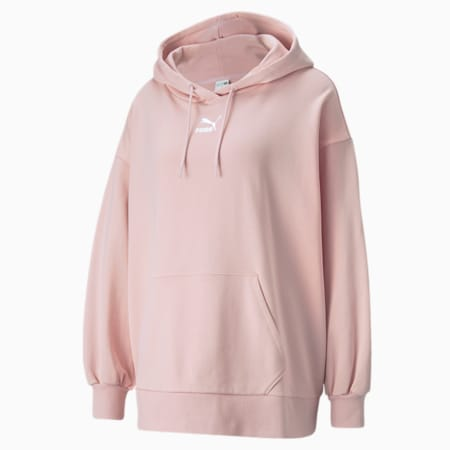 Classics Oversized Women's Loose Hoodie, Lotus, small-IND