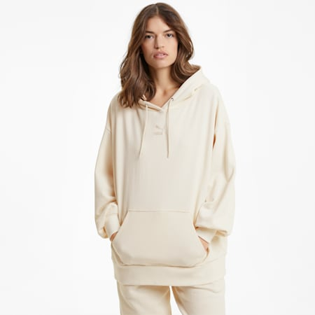 Classics Oversized Women's Hoodie, no color, small