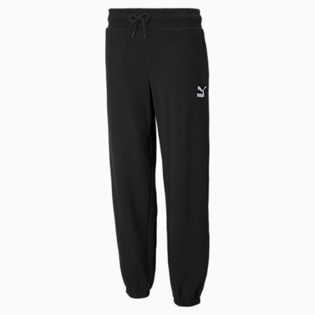 Classics Relaxed Women's Loose Sweat Pants, Puma Black, small-IND