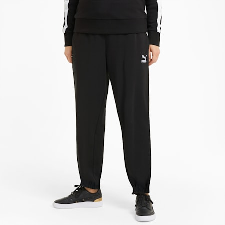 Classics Relaxed Fit Women's Sweat Pants, Puma Black, small-IND
