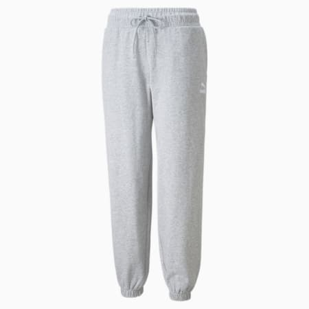 Pantalones holgados Classics para mujer, Light Gray Heather, pequeño