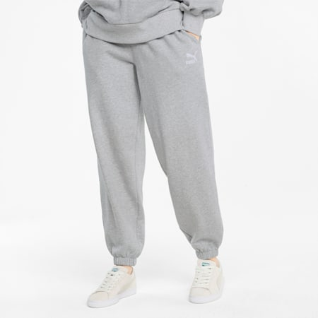 Classics Relaxed Damen Sweatpants, Light Gray Heather, small