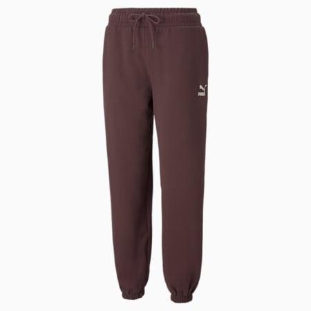Pantalones holgados Classics para mujer, Fudge, pequeño