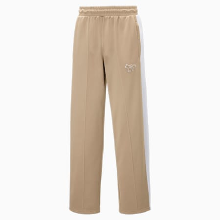 Pantalon de survêtement PUMA x MAISON KITSUNÉ T7 Unisex, Travertine, small