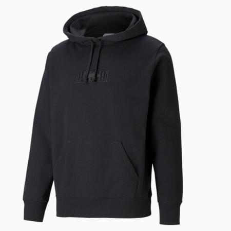 PUMA x MAISON KITSUNÉ hoodie Unisex, Puma Black, small