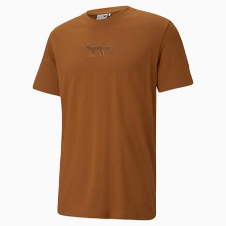 PUMA x Maison Kitsune オーバーサイズ Tシャツ ユニセックス, Monk's Robe, small-JPN