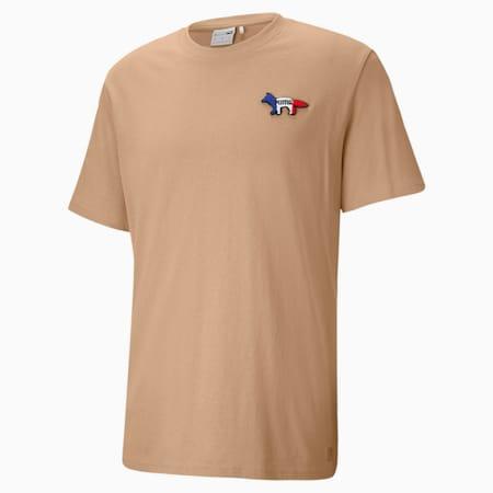 PUMA x Maison Kitsune オーバーサイズ Tシャツ ユニセックス, Travertine, small-JPN