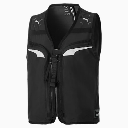 PUMA x NEMEN Men's Utility Vest, Puma Black, small