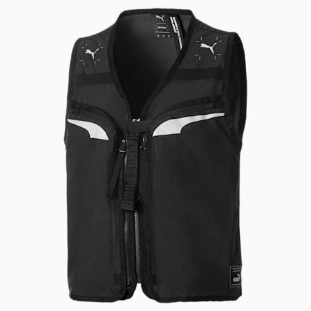 PUMA x NEMEN Men's Utility Vest, Puma Black, small-GBR