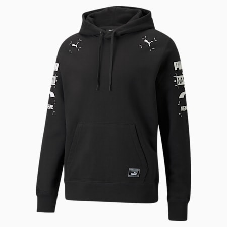 PUMA x NMN Men's Hoodie, Puma Black, small