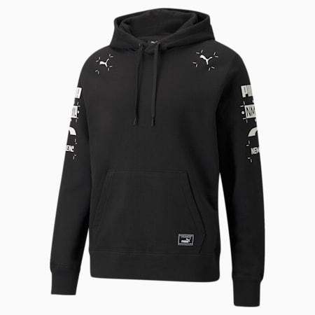 PUMA x NMN hoodie heren, Puma Black, small