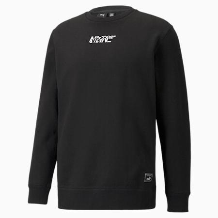 PUMA x NMN sweatshirt met ronde hals heren, Puma Black, small