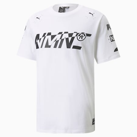 Camiseta Elevated PUMA x NMN para hombre, Puma White, small