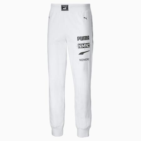 Pantalones de automovilismo para hombre PUMA x NEMEN, Puma White, small