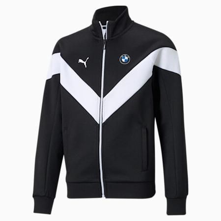 BMW M Motorsport MCS Youth Track Jacket, Puma Black, small-SEA