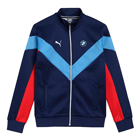BMW M Motorsport MCS Youth Track Jacket, M Colors, small-IND