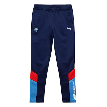 BMW M Motorsport MCS Youth Track Pants, M Colors, small-IND