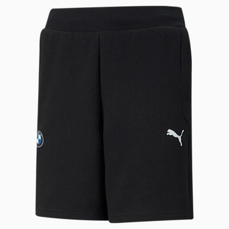 BMW M Motorsport Printed Youth Sweat Shorts, Puma Black, small