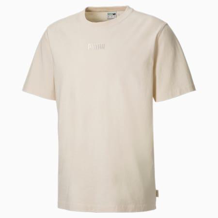 T-shirt MMQ EARTHBREAK homme, Eggnog, small
