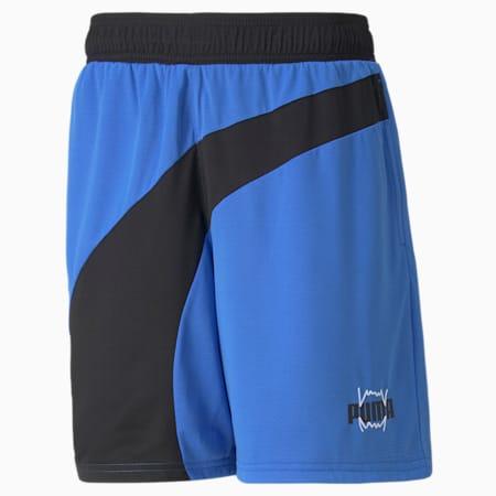 Flare Men's Basketball Shorts, Bluemazing, small-GBR