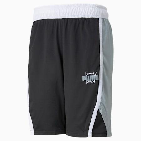 Curl Herren Basketballshorts, Puma Black, small