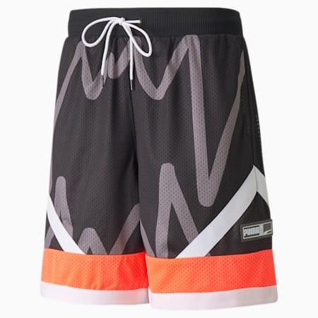 Jaws Men's Mesh Basketball Shorts, Puma Black, small